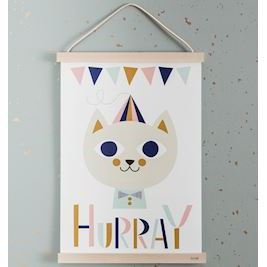 ferm LIVING plakat, Mr. Cat (Limited Edition)